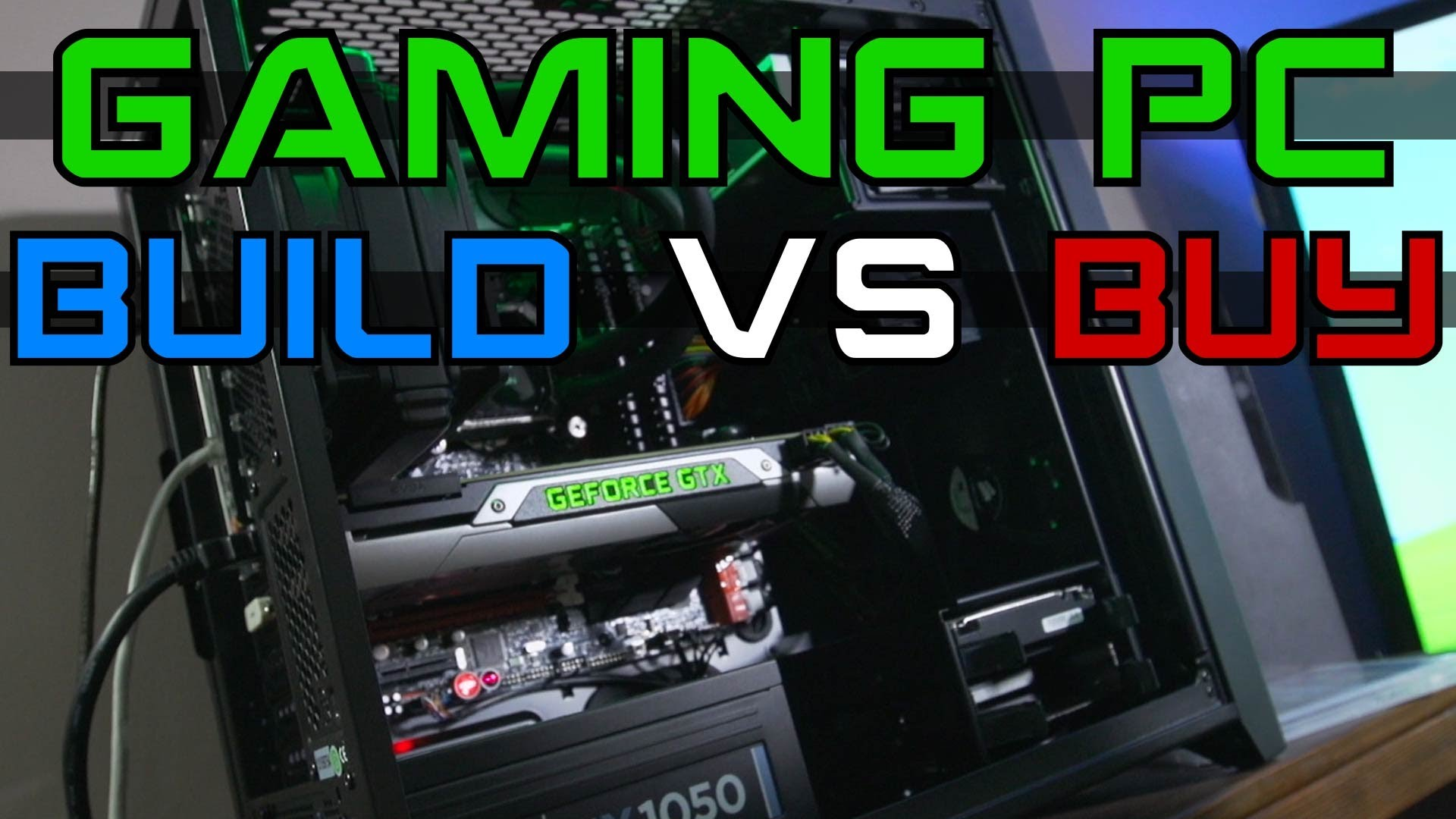 Building Pc Vs Buying A Pc