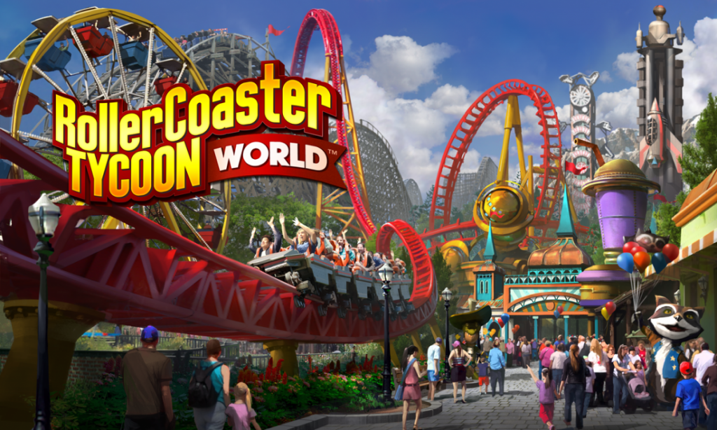 Building Custom Rides In Roller Coaster Tycoon World Is Going To Be