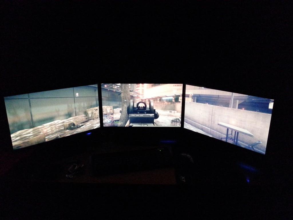 multiple Acer H236HL monitors