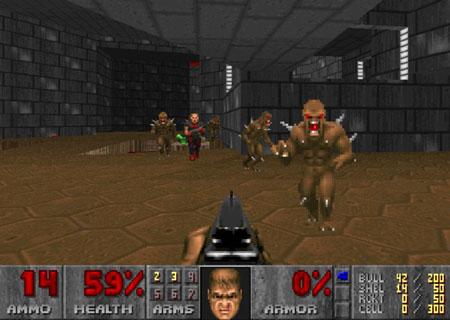 orignal doom screen shot