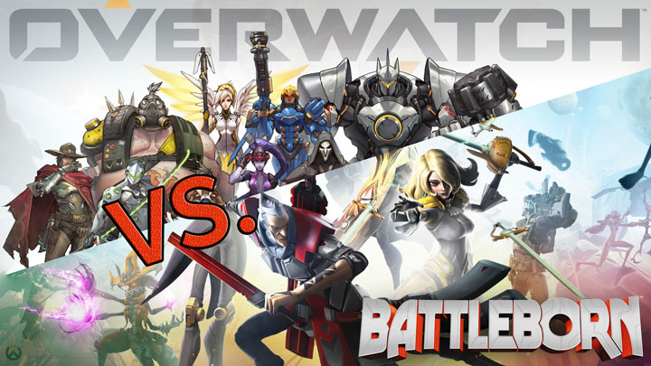 overwatch vs battleborn comparison