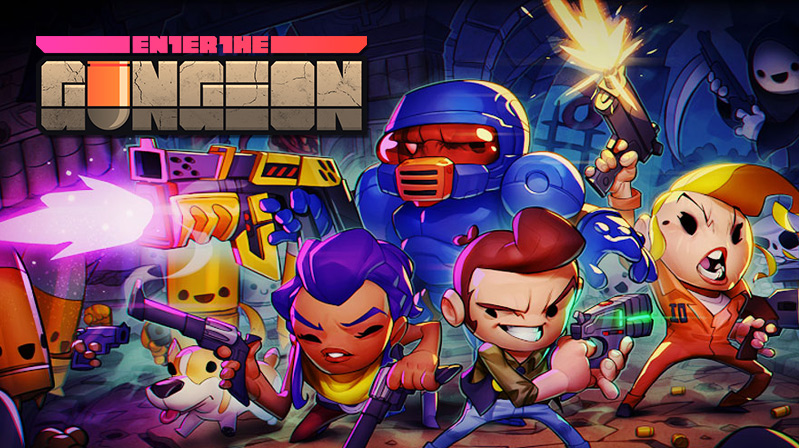 If You Enter The Gungeon You Won't Leave For A While -
