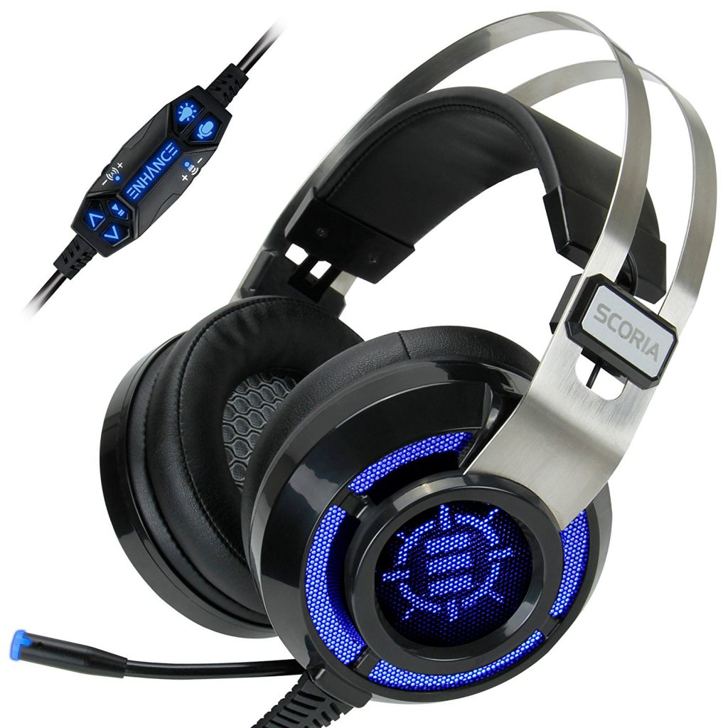enhance scoria pc gaming headset