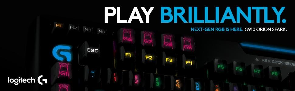 Logitech G910 Keyboard Review, RGB Done Right -