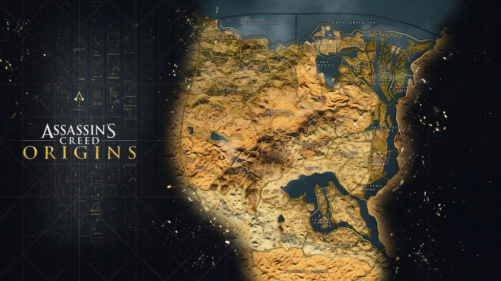 assassins creed origins map