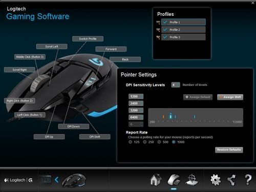 g502 mouse settings