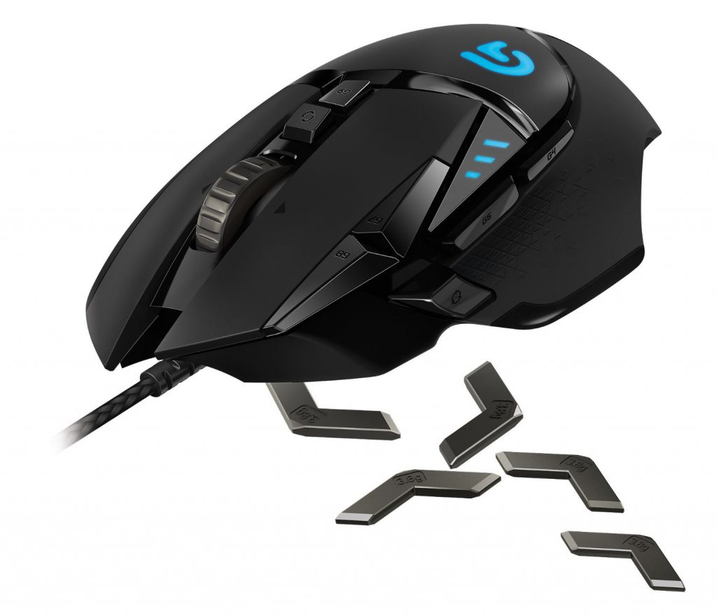 Logitech G502 Proteus Spectrum Optical Gaming Mouse Review