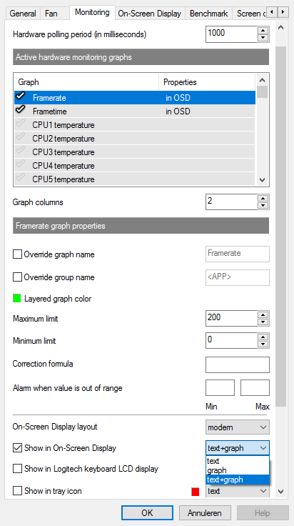 msi afterburner cpu temps