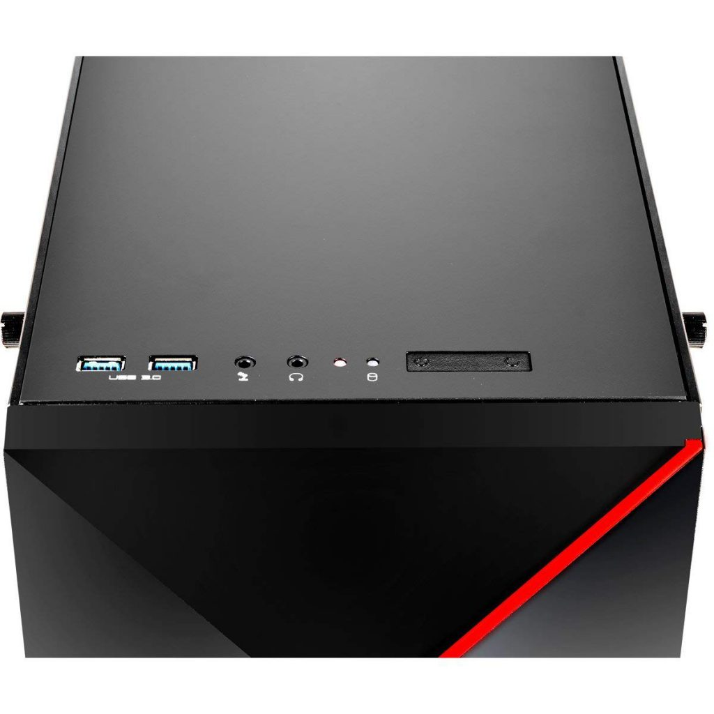 iBUYPOWER Slate 9210 Top of Case