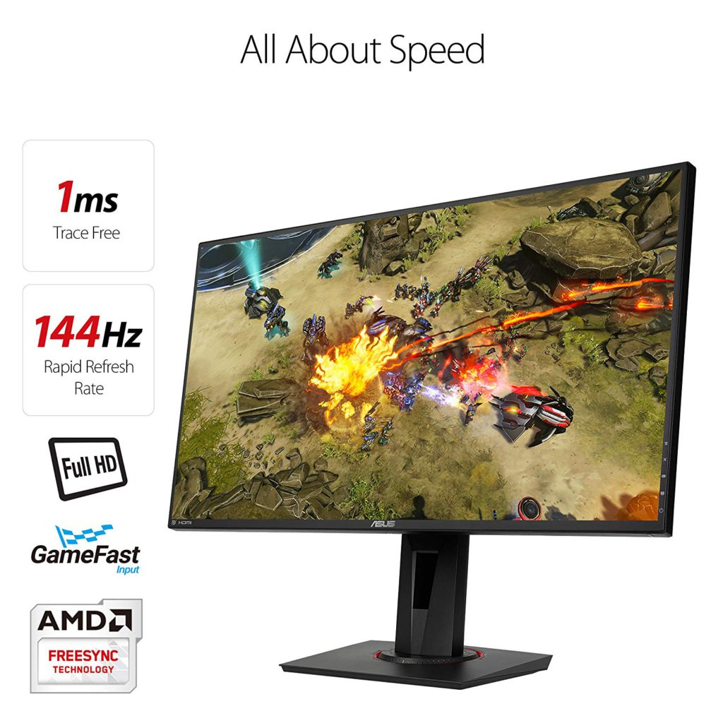 ASUS VG278Q Refresh Rate and Response Time