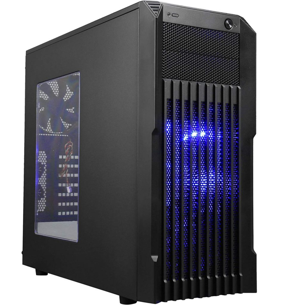 ROSEWILL Stryker M ATX Mid Tower Gaming Computer Case