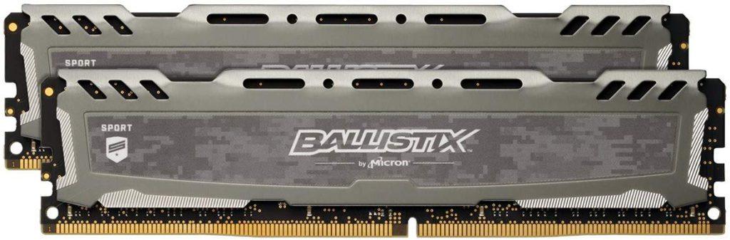 Crucial Ballistix Sport LT 2666 MHz DDR4 16GB