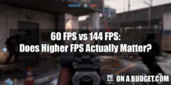 60 FPS vs 144 FPS