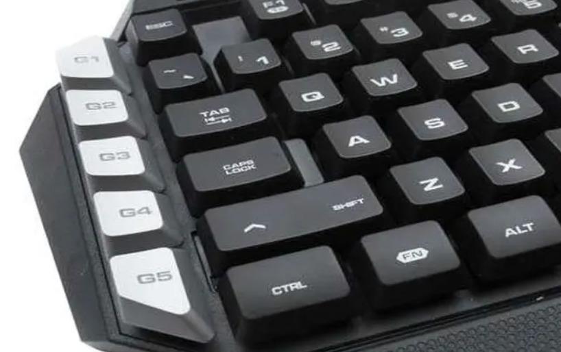 Macro Keys on a Keyboard