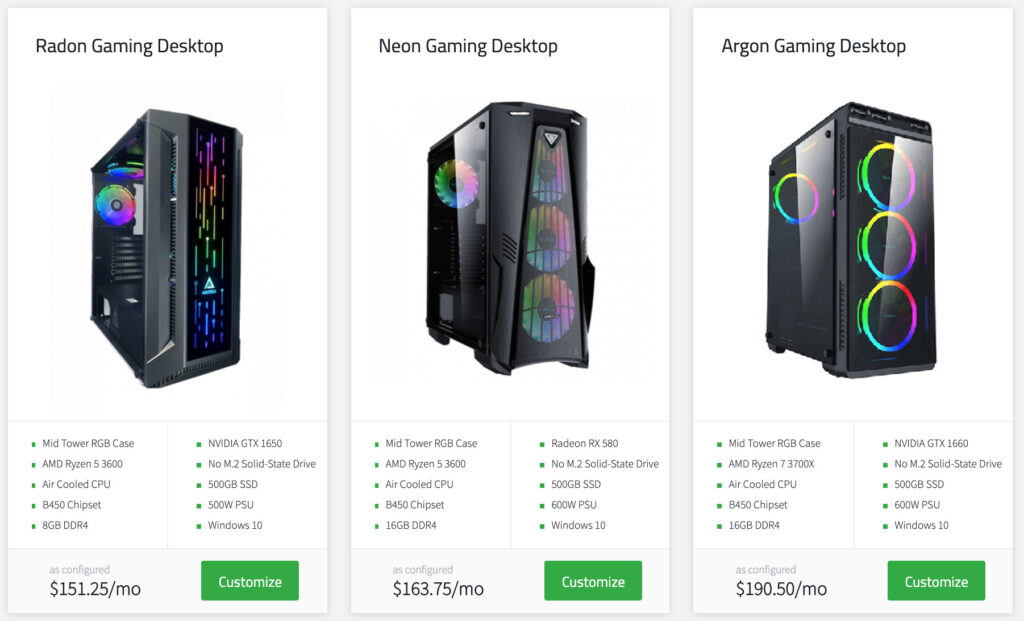 No Compromise Gaming PC Gaming Build Choices